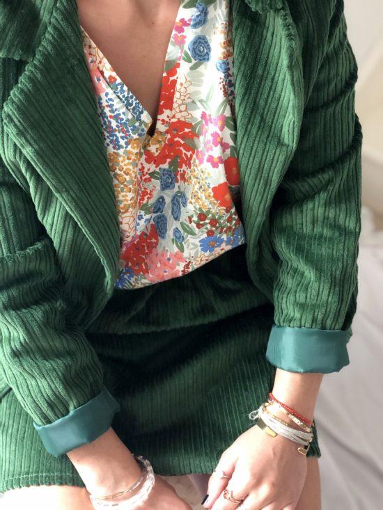 Blazer éthique et éco-responsable pour femme - La Mode de Mélissa - Marque éthique de vêtements feminins - made in france