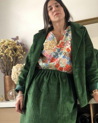 Blazer éthique et éco-responsable pour femme - La Mode de Mélissa - Marque éthique de vêtements feminins - mode éthique
