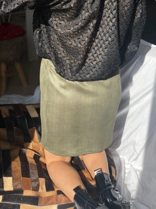 Jupe éthique tartan - La Mode de Mélissa - Marque éthique de vêtements féminins - fabriqué en France