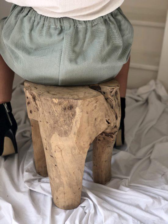 Jupe patineuse éthique - La Mode de Mélissa - Marque éthique de vêtements féminins - fabriqués en France
