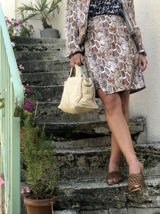Jupe vegan - Jupe été - Jupe femme - Jupe éthique - Jupe éco-responsable - La Mode de Mélissa - Made in France