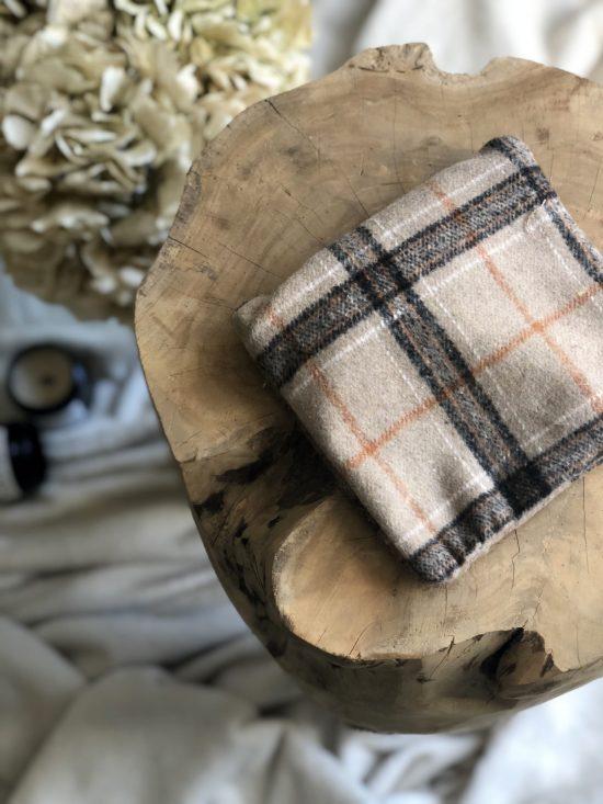 Pochette 100% upcycling - La Mode de Mélissa - Mode éthique et éco-responsable vêtements et accessoires