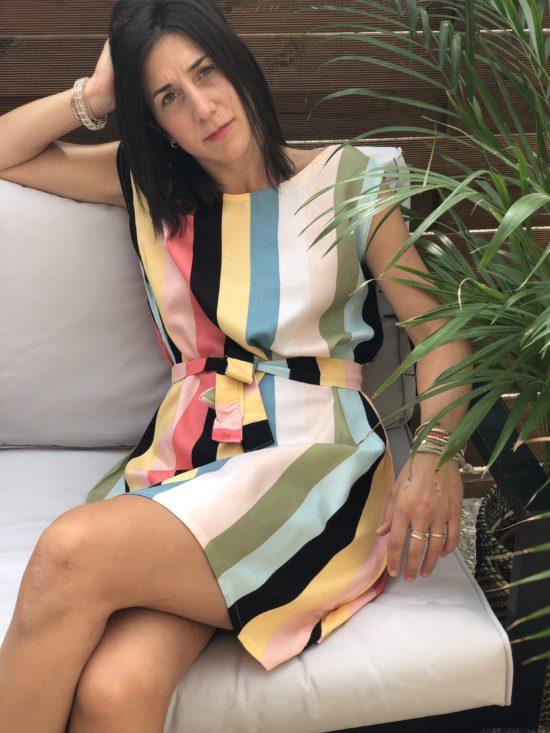 Robe droite - La Mode de Mélissa - Marque éthique et éco-résponsable