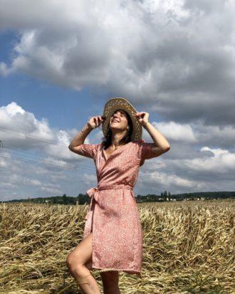 Robe été Made in France - Robe femme - Robe éthique et éco-responsable - La Mode de Mélissa, marque éthique de vêtements pour femme