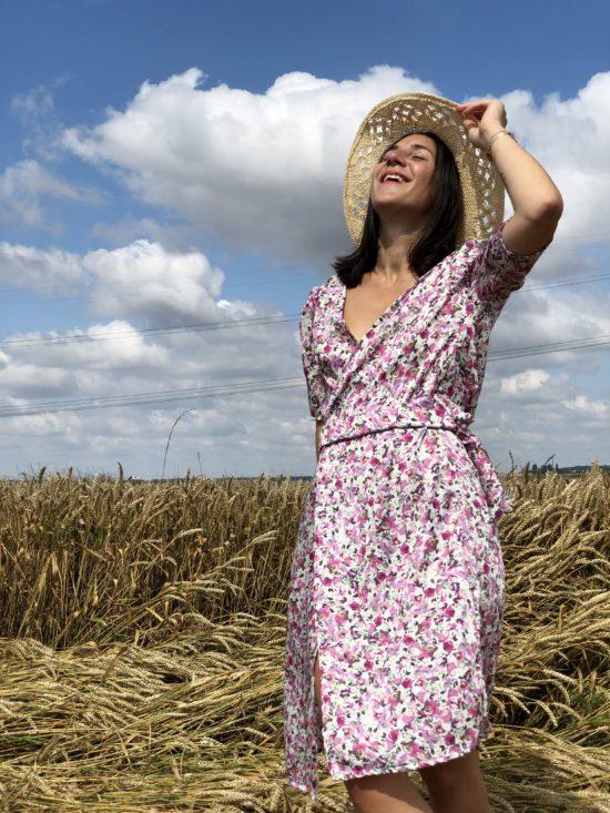 Robe été femme - Robe été - Robe éthique et éco-responsable - La Mode de Mélissa marque éthique et éco-responsable de vêtements