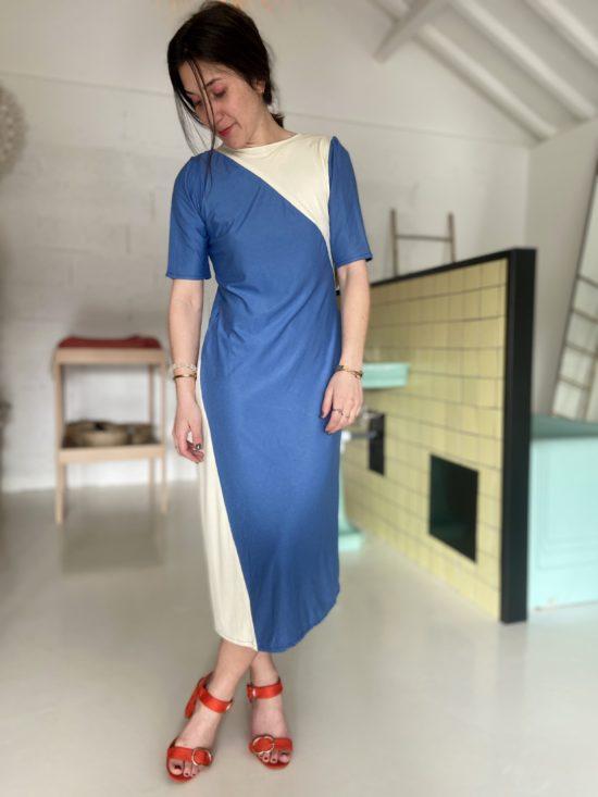 Robe longue éthique bleue - La Mode de Mélissa - Marque éthique