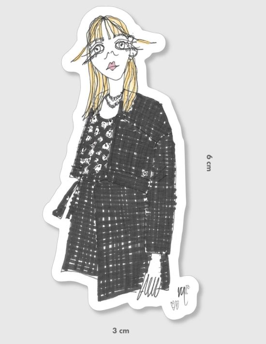 Stickers femme – La Mode de Mélissa x Cindy Fontaine – artisanat
