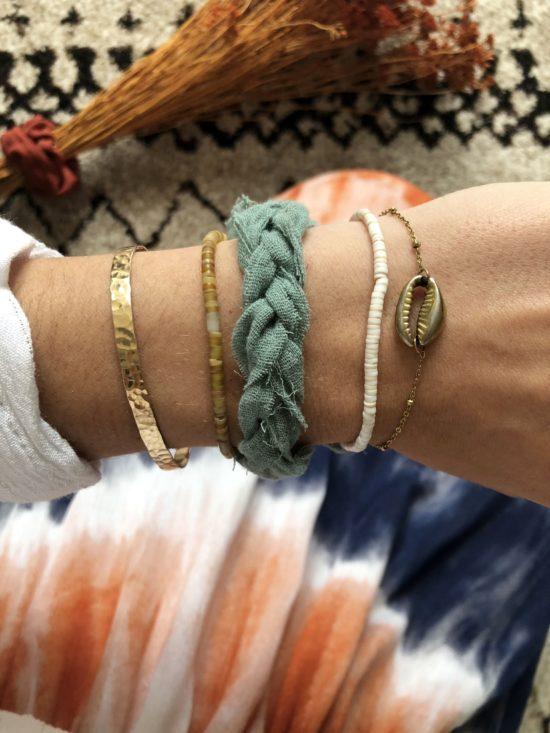 bracelet d'été cousu à la main - la mode de mélissa