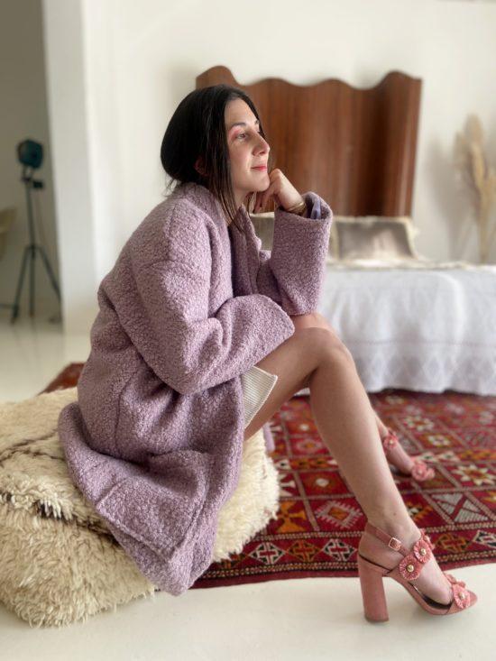 manteau mouton éthique - La Mode de Mélissa - Marque éthique