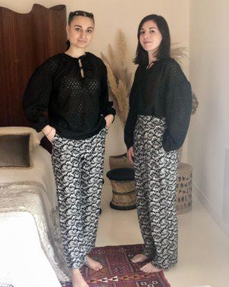 pantalon taille haute éthique - La Mode de Mélissa - Marque éthique - Made in France