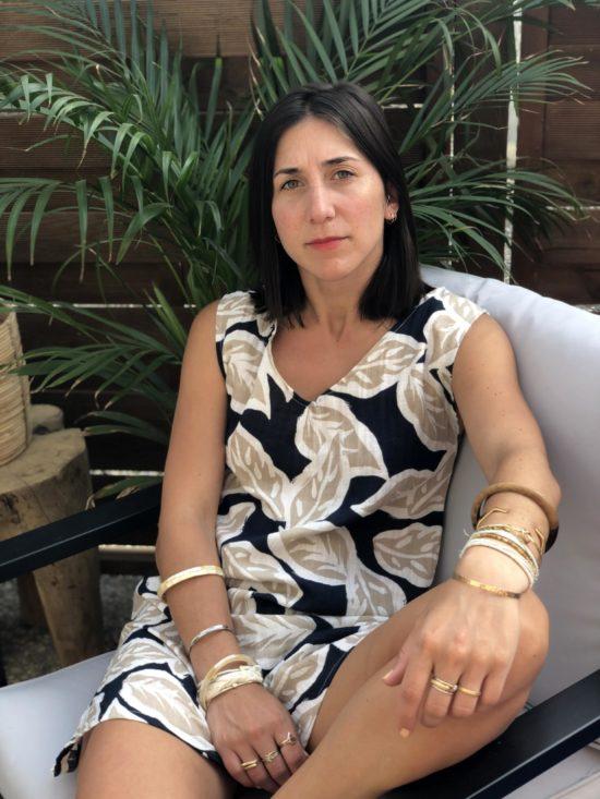 robe droite margot en coton fait main en France - La Mode de Mélissa mode éthique écoresponsable