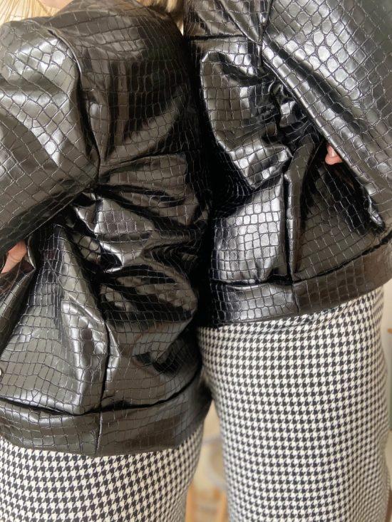 veste croco - La Mode de Mélissa - Mode éthique